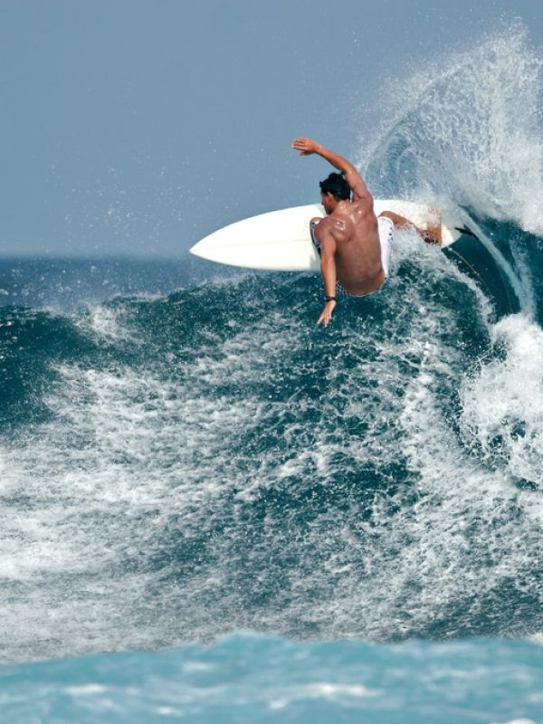 Surfer Riding A Wave | Hot Water 2Day